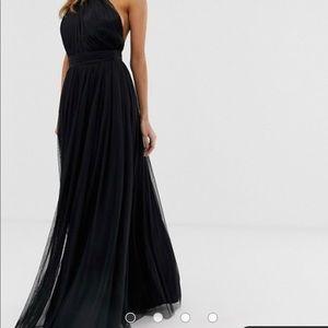 ASOS one shoulder gown